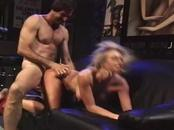 Enjoy this bosomy blonde wife swallows this yummy dick. She ...