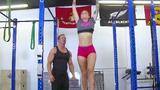 Spy as this sexy teenager gets her wet cooter devoured and hammered after working out. She also ...