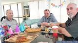 Tracy gave Roger a hot birthday deep throat blowjob