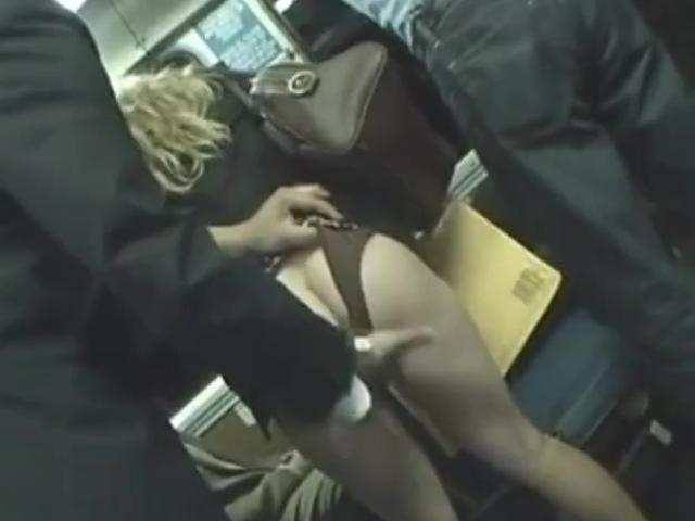 Horny Milf Touched To Multiple Orgasm On The Bus Part 1
