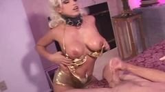 See this lusty blonde chick has her mouth &amp; asshole ...