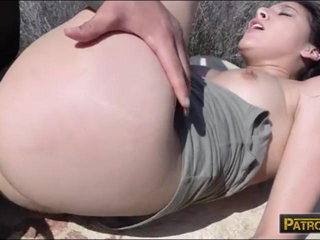 Sexy tight latina Kimberly Gates gets pounded by BP officer