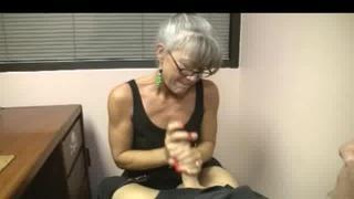 Nympho Mature Wife Blows Hard Pole