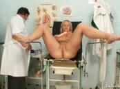 Watch as the lady spreads legs for cunt examination on ...